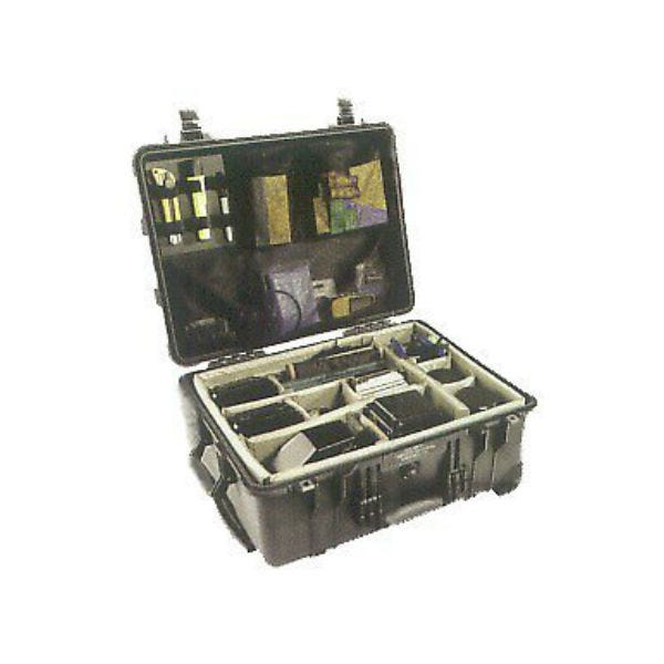 Pelican 1564 Waterproof 1560 Case with Dividers - Black