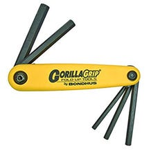 Bondhus GorillaGrip  American 5-Piece Hex Set (3/16-3/8) Large