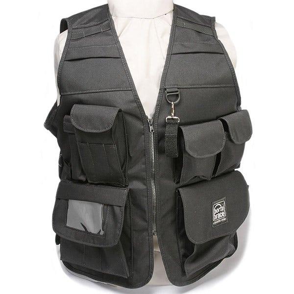 PortaBrace Video Vest, Black - VV-BL (SM-XXL)