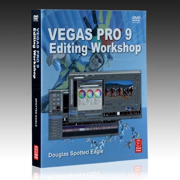 Vegas Pro 9 Editing Workshop Book 9780240813059