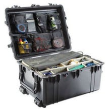 Pelican 1634 Transport 1630 Case with Dividers - Black