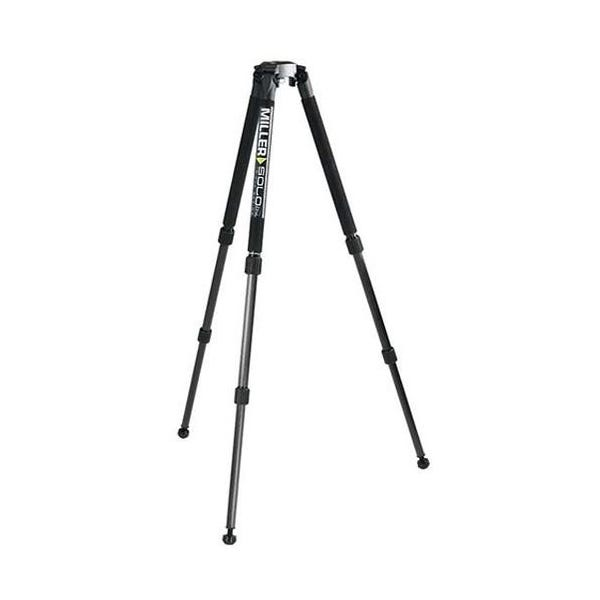 Miller Solo DV Aluminum Tripod with 75mm Bowl