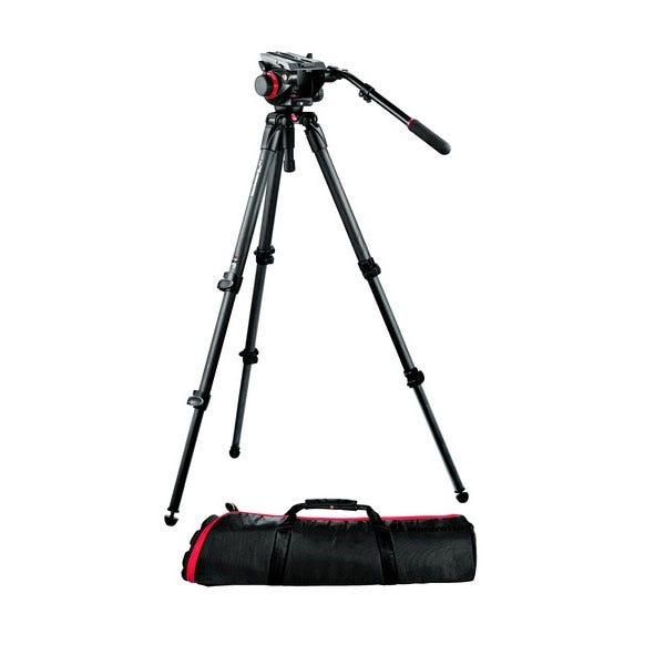 Manfrotto 504HD, 535K Complete Tripod Kit
