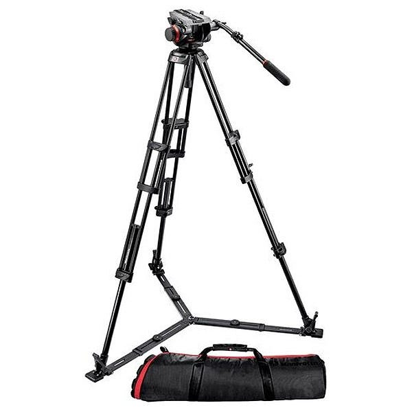 Manfrotto 504HD,546GBK 504HD with 546GB 2-Stage Aluminum Tripod System