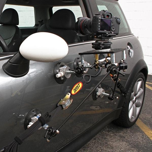 Filmtools Teenie Weenie 4-Cup Car Camera Mount - Kit Only
