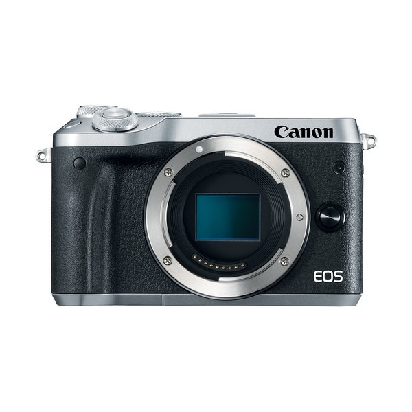 Canon EOS M6 Mirrorless Digital Camera - Silver
