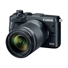 Canon EOS M6 Mirrorless Digital Camera with 18-150mm Lens - Black