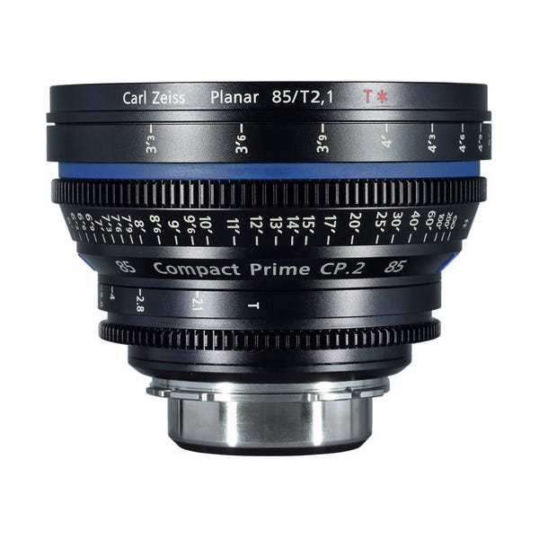 Zeiss Compact Prime CP.2 85mm/T2.1 Cine Lens for PL Mount