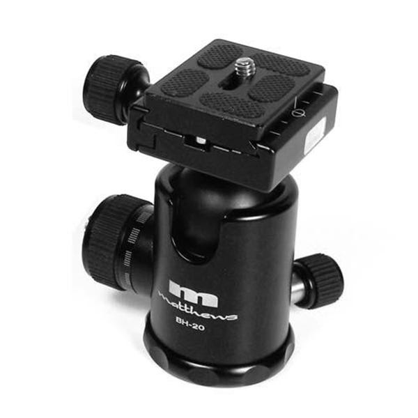 Matthews Studio Equipment BH-30 Ball Head with Quick Release Plate