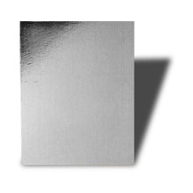 "Savage 32 x 40"" Bright Silver Reflect-o-Board"