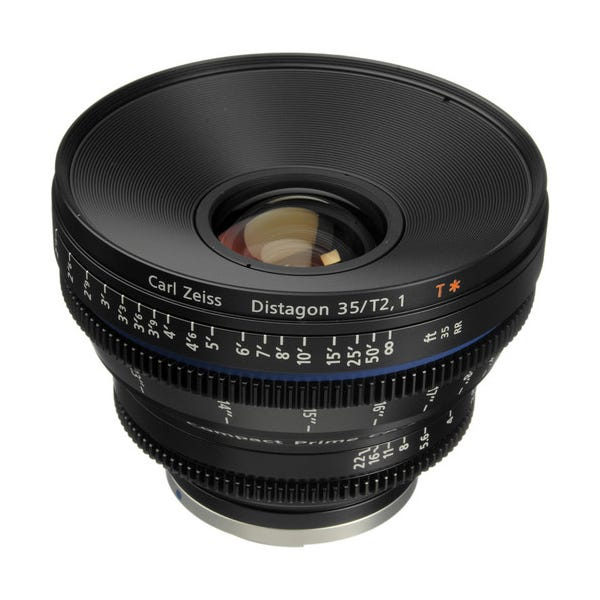 Zeiss Compact Prime CP.2 35mm/T2.1 Cine Lens for EF Mount