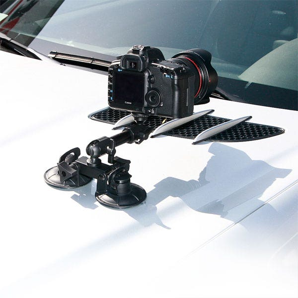 Delkin Fat Gecko Dual Suction Cup Mount