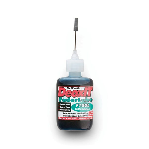Hosa DeoxIT® Faderlube 100% Dropper 25Ml F100L-L25C