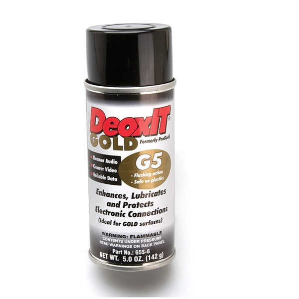 Hosa G5S-6 5oz. DeoxIT G5 ProGOLD Contact Conditioner
