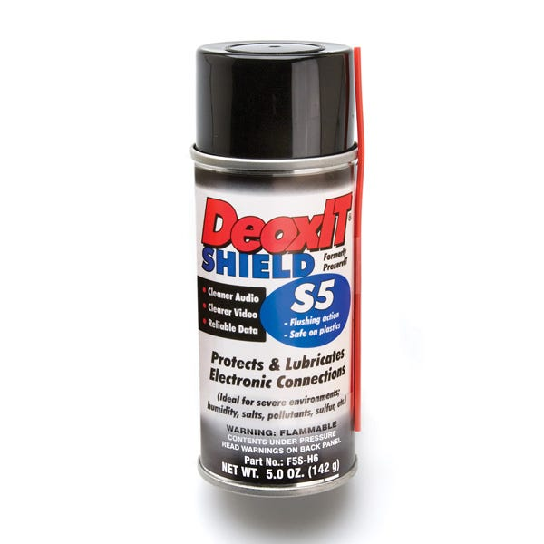 Hosa S5S-6 5oz. CAIG DeoxIT Shield Contact Protector 5% Spray