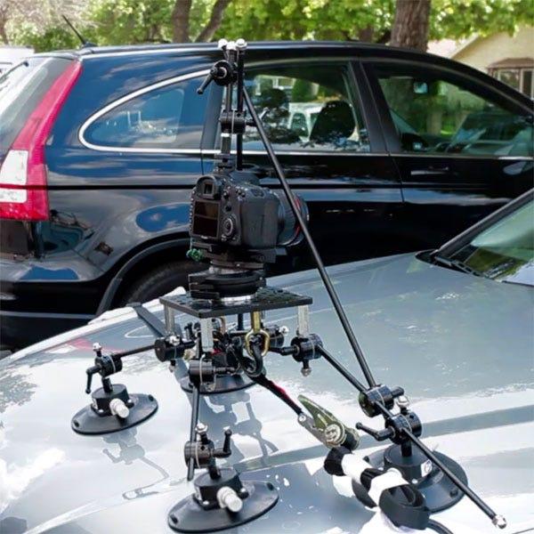 Filmtools Teenie Weenie 4 Cup Camera Mount with Triangulation Kit