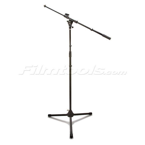 Hosa Microphone Stand w/Boom Black MSB-521BK