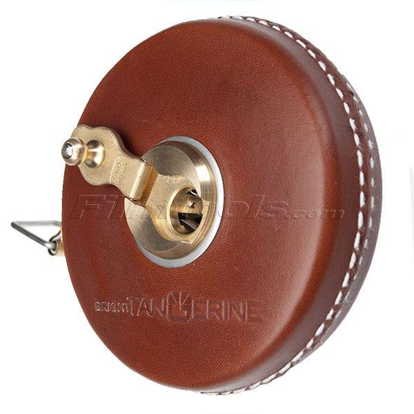 "Rabone Replica 33.5' Leather Encased Tape Measure ""Fauxbone"" - Brown"