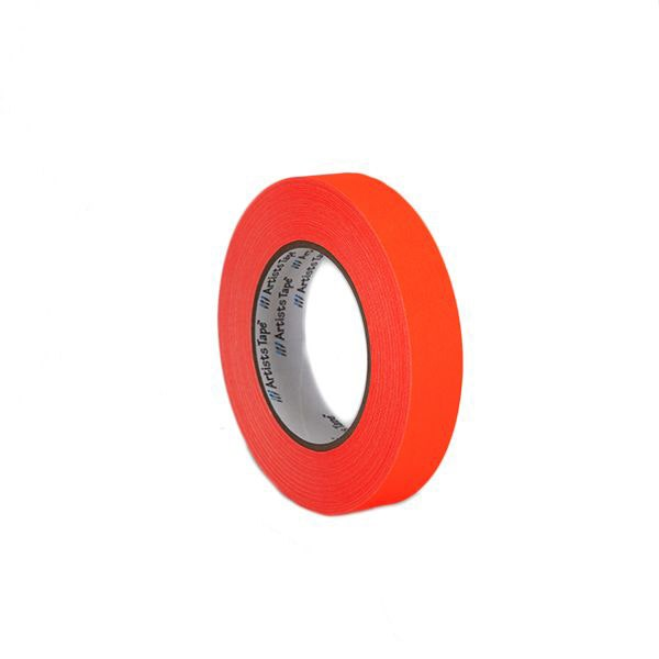 "ProTapes 1"" Artist's Paper Tape - Fluorescent Orange"