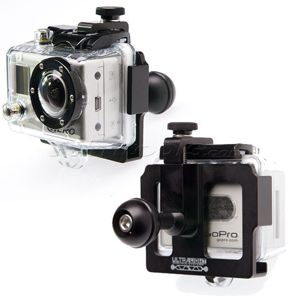 Ultralight Control Systems GoPro Camera Ball Mount Cage