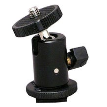 1/4-20 Ball Mount on Hot Shoe (Moviecam)