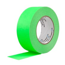"""ProTapes 2"""" Paper Tape - Fluorescent Green"""