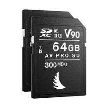 Angelbird 64GB SDXC UHS-II Memory Card For The Canon EOS R6 (2 Pack)