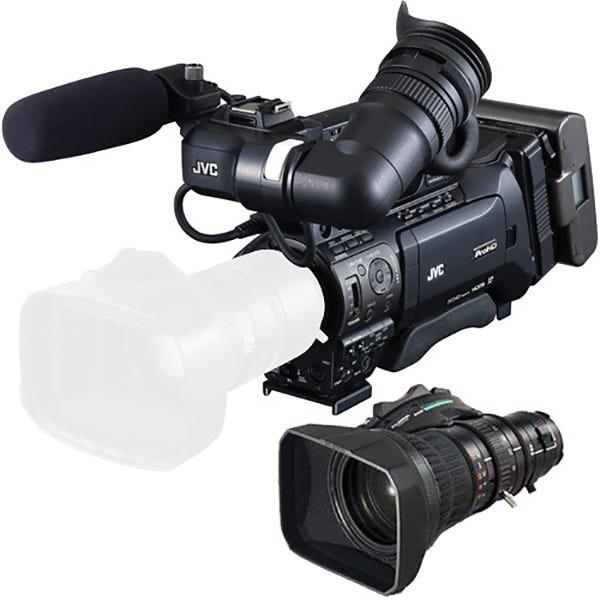 JVC GYHM850L17 ProHD Shoulder Camcorder w/ Lens