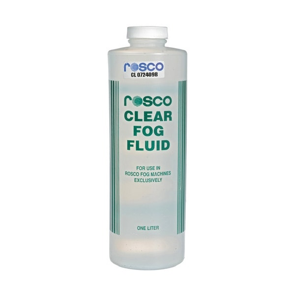 Rosco Clear Fog Fluid 1 Liter (Ground Only) 08600 0034
