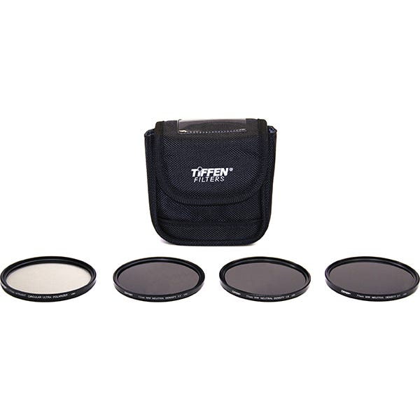 Tiffen 77mm Indie Plus HV 1.5 - 2.1 Filter Kit (Neutral Density (ND) and Ultra Circular Polarizer Filters)