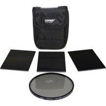 "Tiffen 4 x 5.65"" Indie Pro Plus HV Neutral Density (ND) 1.5-2.1 Filter Kit"