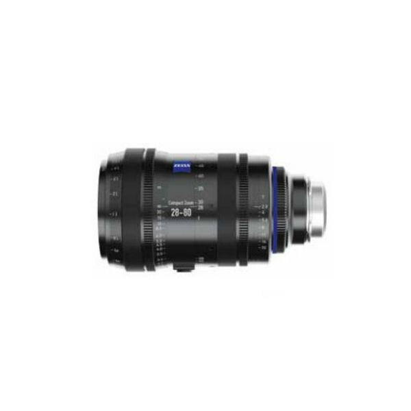 Zeiss 28-80mm T2.9 Compact Zoom CZ.2 Lens for PL Mount