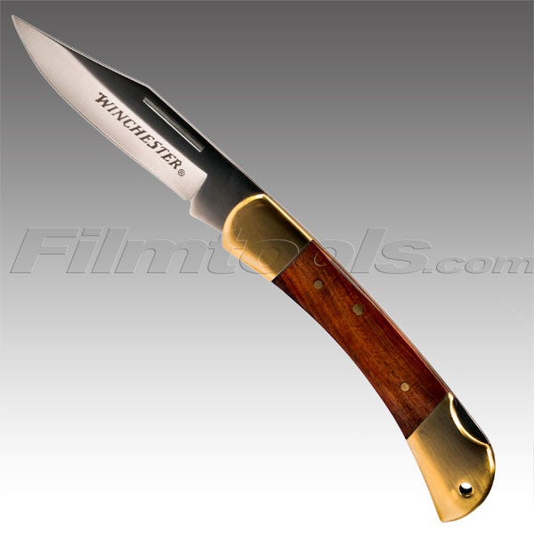 """Gerber Winchester 3.5"""" Brass Folder Knife"""