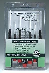 Wiha Precision Hex Driver Set (7) METRIC