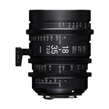 Sigma 18-35mm T2 High-Speed Zoom Lens (EF Mount)
