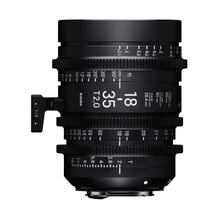 Sigma 18-35mm T2 High-Speed Zoom Lens - EF Mount