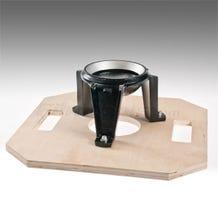 Filmtools 150mm Hi-Hat Bowl on Octagon Board