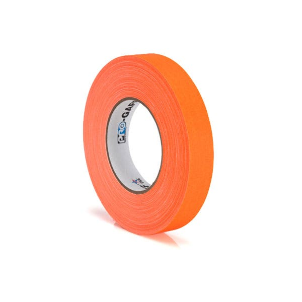 "Pro-Gaff 1"" Gaffer Tape (Camera Tape) - Fluorescent Orange"