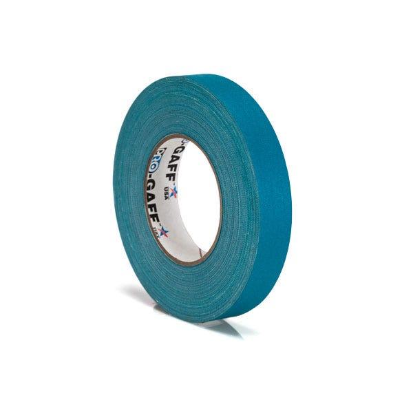 """Pro-Gaff 1"""" Gaffer Tape (Camera Tape) - Teal"""