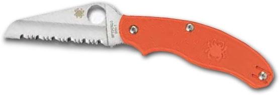 Spyderco UK Pen Rescue knife - Orange