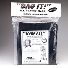 "BAG IT! 105 x 75"" 6-Mil Visqueen Bags/Tarps/Rain Covers - Large (Various)"