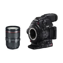 Canon EOS C100 Mark II with Dual Pixel CMOS AF & EF 24-105mm f/4L IS II USM Zoom Lens Kit