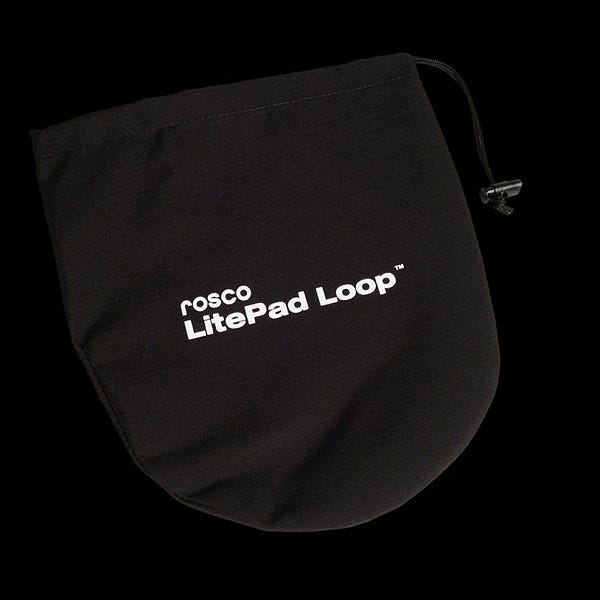 Rosco 291660000909 LitePad Loop Drawstring Storage Pouch