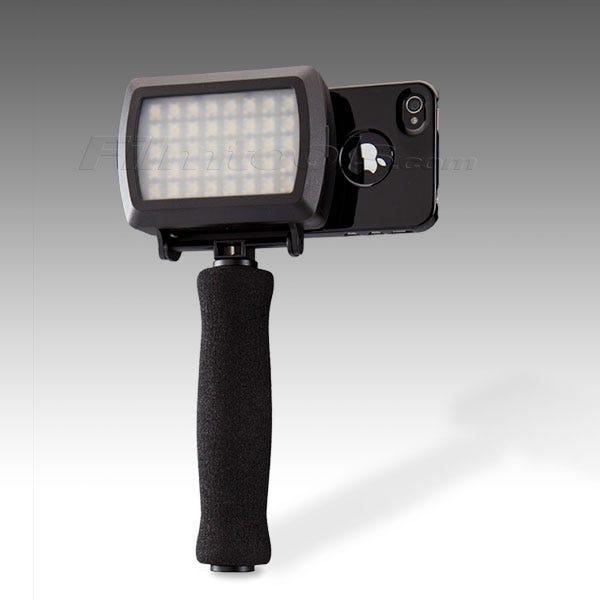 Dot Line Corp DL-0902/B DL-0902 Grip Kit for iPhone 4/4S Arm 1/4 LED - Light Black