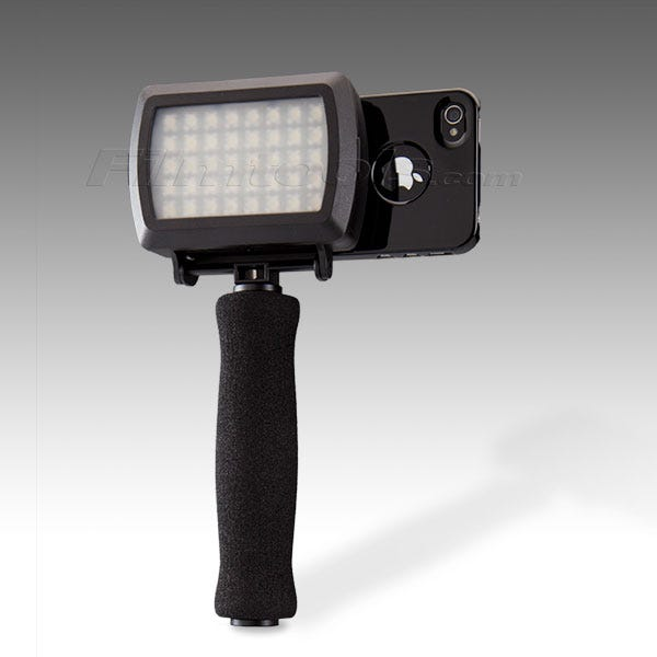 Dot Line Corp DL-0902/B DL-0902 Grip Kit for iPhone 4/4S Arm 1/4 LED - Light Black