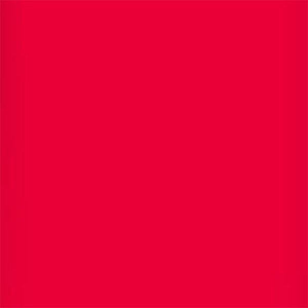 """Lee Filters 24 x 21"""" High Temperature Gel Filter Sheet - Bright Red"""