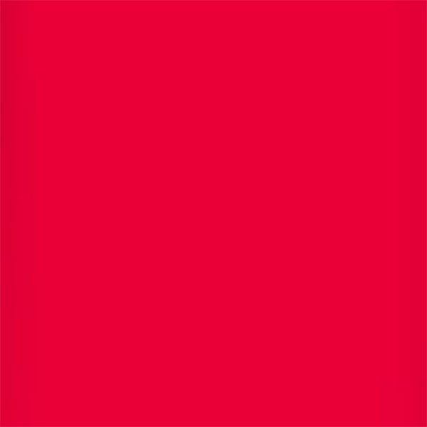 "Lee Filters 24 x 21"" High Temperature Gel Filter Sheet - Bright Red"
