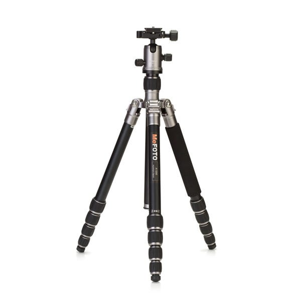 MeFoto RoadTrip Travel Tripod - Titanium