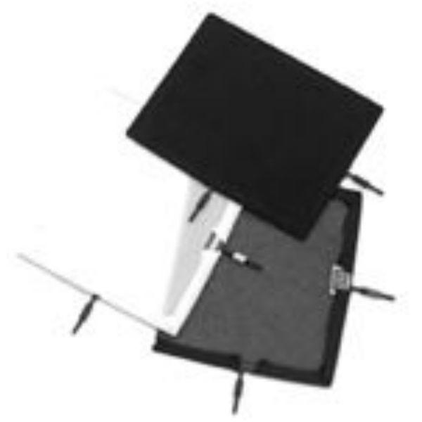 "Matthews Studio Equipment Flex Scrim - 10"" x 12"" - Single Black 238120"