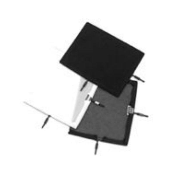 "Matthews Studio Equipment Flex Scrim - 12"" x 20"" - Double Black #238221"